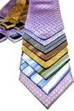 丝绸领带 免版税库存照片