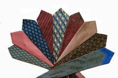 丝绸领带 库存照片