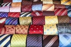 丝绸领带 免版税库存图片