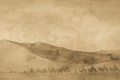 丝绸之路图象 库存照片
