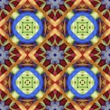 丝绸五颜六色的丝带背景,剪贴薄的背景,顶视图 无缝的样式万花筒蒙太奇 免版税库存照片