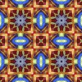 丝绸五颜六色的丝带背景,剪贴薄的背景,顶视图 无缝的样式万花筒蒙太奇 库存照片