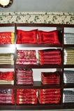 丝绸产品 免版税图库摄影