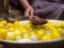 丝绸制造商 免版税库存图片