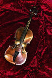 丝绸小提琴 库存照片