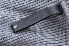 丝绸标签 免版税库存照片