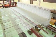 丝绸编织 免版税库存照片