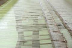 丝绸编织 库存照片