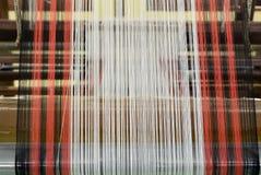 丝绸编织 图库摄影