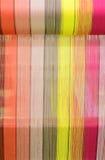 丝绸编织 免版税库存图片