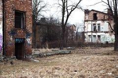 丢失在离开的村庄无处  库存图片