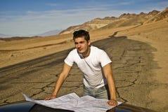 丢失的沙漠 图库摄影