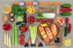丢失重量的健康食品 免版税库存照片