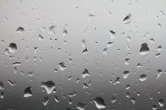 丢弃玻璃雨视窗 图库摄影
