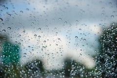 丢弃玻璃水 免版税库存照片