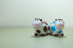 两三母牛 库存图片