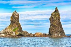 两个兄弟岩石 免版税库存图片