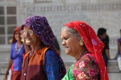 两个印地安人妇女 免版税库存图片