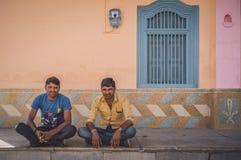两个印地安人 库存图片