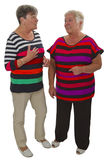 两个女性前辈 免版税图库摄影