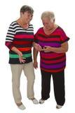 两个女性前辈 图库摄影