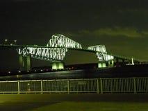 两个妖怪桥梁在东京 免版税库存图片