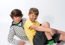 两个弟弟 免版税图库摄影