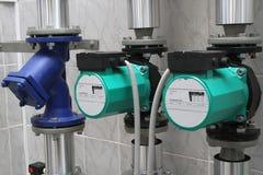 两个循环泵 免版税库存图片