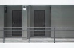 两个房间和大阳台 库存图片