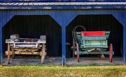 两个推车 库存照片