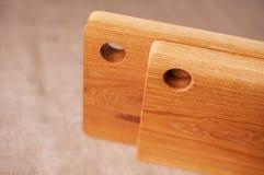 两个木板 库存图片