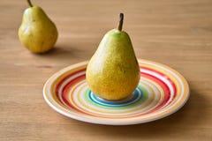 两个梨 免版税库存照片