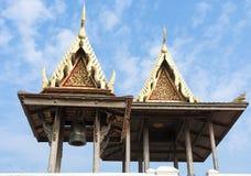 两个泰国棚子 免版税库存照片