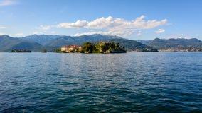 两个海岛Maggiore湖 免版税图库摄影