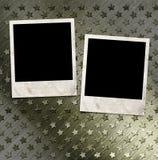 两个照片框架 免版税库存图片