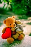 两个熊玩偶 免版税库存图片