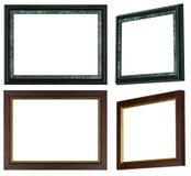 两个画框,中的每一个与两透视 免版税库存照片