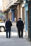 两个老人 免版税图库摄影