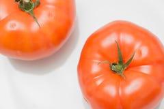 两个肉蕃茄 免版税库存照片
