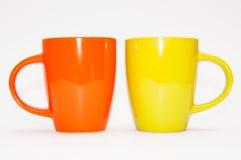 两个茶杯 库存图片