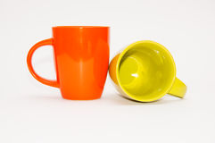 两个茶杯 库存照片