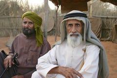 两个阿拉伯人 库存图片