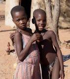 两个非洲女孩 免版税库存照片
