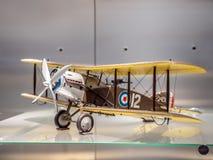 两个seater英国布里斯托尔F2B战斗机 图库摄影