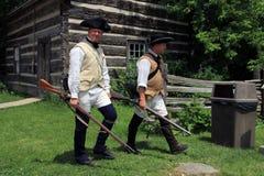 两位战士 免版税库存照片