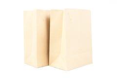 两包装纸袋子 免版税库存照片