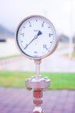 两压力测压器 免版税库存照片
