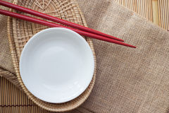 两双筷子 免版税库存照片