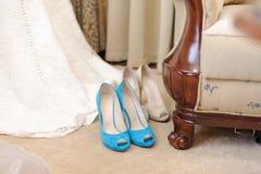 两双鞋 免版税库存照片