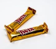 两唯一twix 免版税库存照片